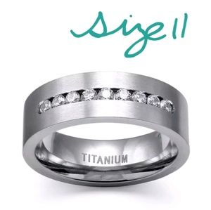 Other - Stainless Steel Titanium Wedding Ring/Band